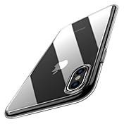 Etui Til Apple iPhone XR / iPhone XS Max Ultratynn / Gjennomsiktig Bakdeksel Ensfarget Myk TPU til iPhone XS / iPhone XR / iPhone XS Max