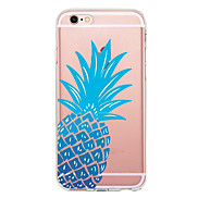 For Case Cover Ultra-thin Transparent Pattern Back Cover Case Fruit Soft TPU for Apple iPhone X iPhone 8 Plus iPhone 8 iPhone 7 Plus