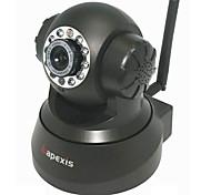 apexis® Беспроводная IP-камера видеонаблюдения с оповещение по электронной почте (обнаружение движения, ночного видения, черный)