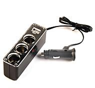 3 prese caricabatteria per auto con alimentazione elettrica del USB per il iphone iphone 6 6 più