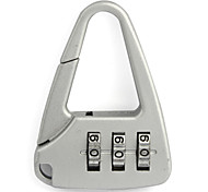 cheap -Luggage Lock Coded Lock 3 Digit Anti-theft Coded lock Luggage Accessory Mini Size For Luggage