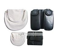 Tasche Inspiriert von Naruto Naruto Uzumaki Anime Cosplay Accessoires Tasche Weiß / Schwarz Polyester / PU Leder Mann