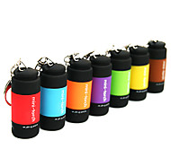 cheap -Key Chain Flashlights LED 25 lm 1 Mode - Mini Waterproof Everyday Use Yellow Brown Red Green Blue