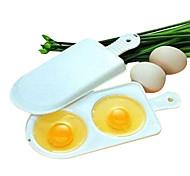 Недорогие -микроволновые печи яичные омлеты котел коробка двойной 2 яйца boilling инструменты
