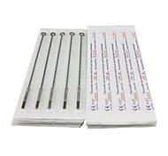 50PCS Sterile Stainless Steel Tattoo Needles 25 7M1 25 9M1