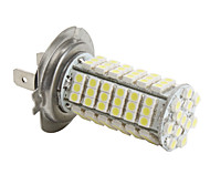 Ampoule LED Blanche de Voiture (DC 12V), H7 3528 SMD 102-LED