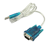 usb 2.0 a rs232 serie 9 pin db9 adaptador de cable pda& gps 1.8 m