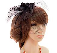тюль фашинизаторы birdcage завесы головной убор классический женский стиль