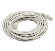 abordables -cable de red de Ethernet del gato 5 rj45 (los 10m) de alta calidad, durable