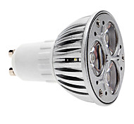 cheap -3W GU10 LED Spotlight MR16 3 COB 280 lm Warm White Dimmable AC 220-240 V