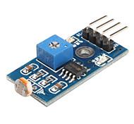 6495 Photoresistor Light Sensor Module for Smart Car (Black & Blue)