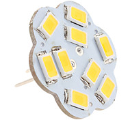 abordables -2.5W 3000lm G4 Luces LED de Doble Pin 9 Cuentas LED SMD 5630 Blanco Cálido 12V