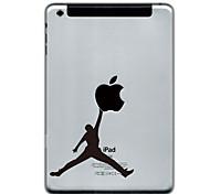 Недорогие -Майкл Джордан дизайн протектора наклейки для Ipad Mini 3, Ipad Mini 2, Ipad мини