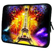 Недорогие -Эйфелева башня Laptop Sleeve чехол для MacBook Air Pro / HP / DELL / Sony / Toshiba / Asus / Acer