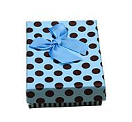 Недорогие -Коробки для бижутерии Бумага Синий