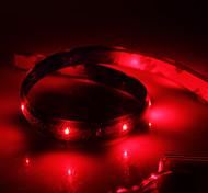 preiswerte -Wasserdicht 60cm 24-LED Red LED Strip Light (12V)