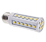 abordables -5W 3000 lm E26/E27 Ampoules Maïs LED T 41 diodes électroluminescentes SMD 5050 Blanc Chaud AC 220-240V