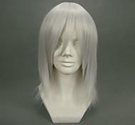 Cosplay Wigs Final Fantasy Kadaj White Short Anime/ Video Games Cosplay Wigs 40 CM Heat Resistant Fiber Male