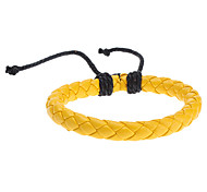 Z&X®  Pure Color Leather Knit Bracelet