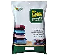 Недорогие -Вакуумные пакеты Текстиль с 1 Storage Bag , Особенность является Ваккумные , Для Ткань / Стеганныеодеяла