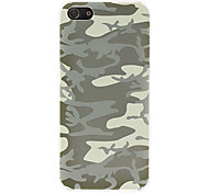 For iPhone 5 Case Pattern Case Back Cover Case Camouflage Color Hard PCiPhone 7 Plus / iPhone 7 / iPhone 6s Plus/6 Plus / iPhone 6s/6 /