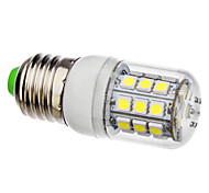 3.5 E26/E27 LED Corn Lights 30 leds SMD 5050 Natural White 6000lm 6000KK AC 110-130 AC 220-240V