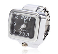 Unisex Square Style Alloy Analog Quartz Ring Watch (Assorted Colors) Cool Watches Unique Watches
