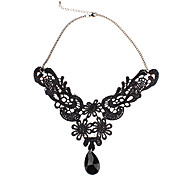 cheap -Phoenix Lace Drop Necklace