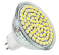 4W E14 GU10 GU5.3(MR16) E26/E27 LED Spotlight MR16 80 SMD 3528 300-350lm Warm White Natural White 6000K DC 12 AC 220-240V