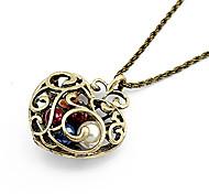 Женский Ожерелья с подвесками Винтаж Ожерелья В форме сердца Резина Сплав Сердце бижутерия Бижутерия Назначение Повседневные