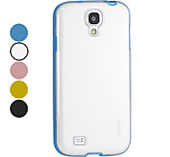 For Samsung Galaxy Case Other Case Back Cover Case Solid Color TPU Samsung S4