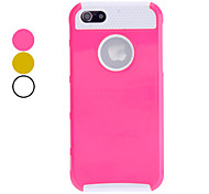 cheap -Case For Apple iPhone 5 Case Back Cover Solid Colored Hard PC for Apple