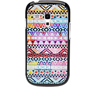 cheap -Triangle Woven Design Pattern Hard Case for Samsung Galaxy I8190