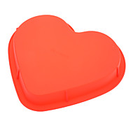 cheap -Mold Heart For Pie For Cookie For Cake Silicone Eco-friendly Valentine's Day High Quality