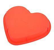 Недорогие -пресс-форма для пиццы с пиццей из силикона с сердечком (случайный цвет), форма для выпечки