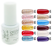 cheap -YeManNvYou®Sequins UV Color Gel Nail Polish No.157-168 (5ml, Assorted Colors)