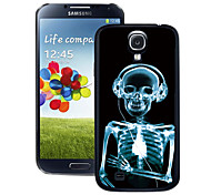 cheap -For Samsung Galaxy Case Pattern Case Back Cover Case Skull PC Samsung S4