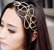 cheap -Women's Elegant Fabric Alloy Headband Flower