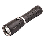 Diving Flashlights/Torch 980 lm Mode Waterproof for Diving/Boating Fishing Water Sports