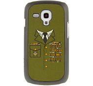 Недорогие -Военного образца рисования Равномерное Защитные Жесткий задняя обложка чехол для Samsung Galaxy Trend Duos S7562