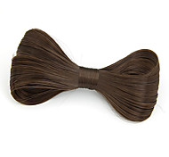 Fabric Hair Clip Black Coffee