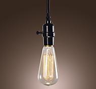 40w традиционный / классический / год сбора винограда мини-стиль / лампы включены подвесные светильники столовая / офис