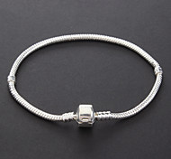 cheap -Women's Silver Plated Chain Bracelet Vintage Bracelet - Silver Bracelet For Christmas Gifts Party