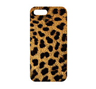 For iPhone 5 Case Case Cover Ultra-thin Back Cover Case Leopard Print Hard PC for iPhone SE/5s iPhone 5