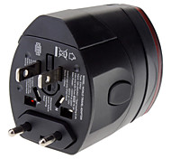World Travel Wall Plug Adapter With dual USB charging port power supply