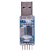 Недорогие -высококачественный PL2303 usb-ttl / usb-stc-isp он-лайн редактор программы - синий