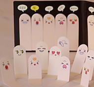 Недорогие -милый 200 страниц десять пальцев наклейка закладки записки липкие заметки колодки