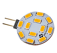 cheap -SENCART 5W 420-500 lm G4 LED Spotlight 12 leds SMD 5730 Warm White Cold White AC 12V DC 12V