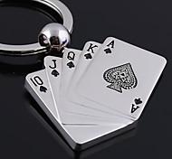 Брелок подарочный именной в стиле игровых карт