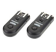 2PCS Yongnuo RF-603N sem fio flash gatilho para Nikon D800/D3X/D3/D2X/D2H/D1H/D1X/D700/D300/D200/D100